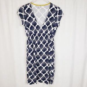 Boden Curved Waist Seamed Dress